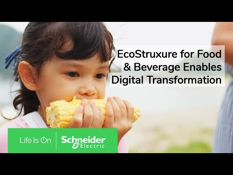 EcoStruxure Drives the Industries of the Future for Food and Beverage | Schneider Electric