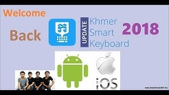 how to install Khmer Smart Keyboard on iOS 11 ( 2017 )