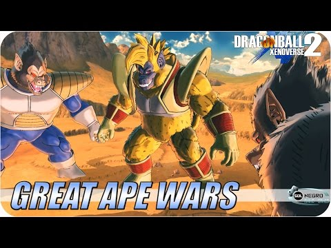 Great Ape Wars: Baby Vegeta and Bardock VS Vegeta and Napa - Dragon Ball Xenoverse 2 mod
