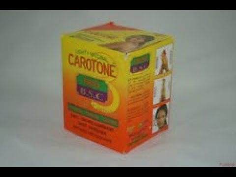 Carotone Black spot corrector (It's a No-No)