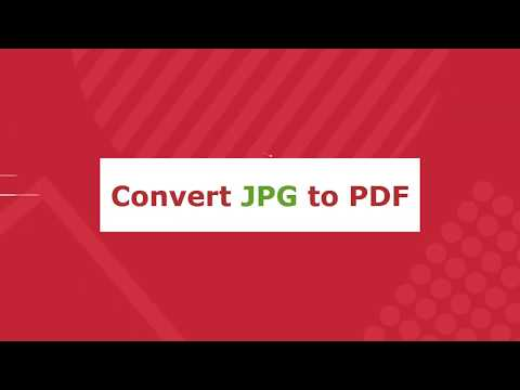 How to Convert JPG to PDF Online Free
