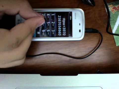 how to unlock nokia 5230 instructions