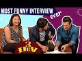 Karan Singh Grover & Ravi Dubey's Most Funny Interview Ever | 3 DEV | Kunaal Roy Kapur