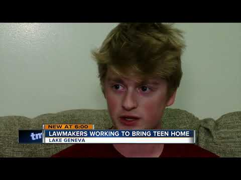 Lawmakers Working To Bring Lake Geneva Teen Back To The U.S.
