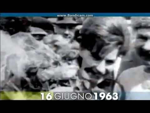 16 giugno 1963  Valentina Tereshkova