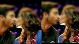 Fawad Khan Kissing His Wife For The First time On Camera At her Birthday Party
