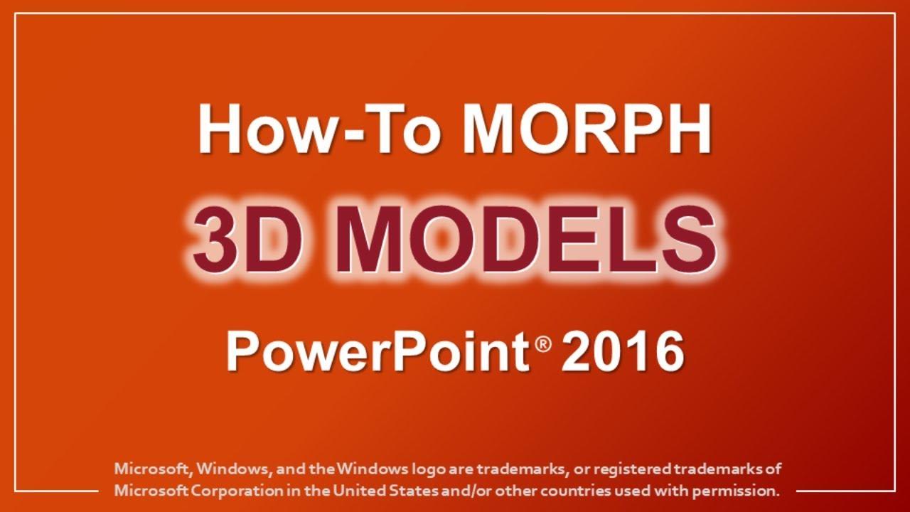 powerpoint models