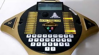 Let's Play Deal Or No Deal Electronic Handheld Game