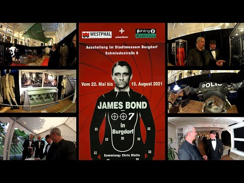 James Bond 007 in Burgdorf - The exhibition opening