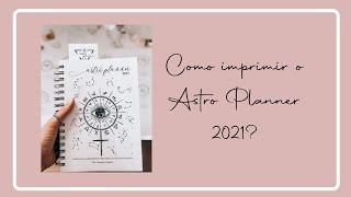 Como imprimir seu Astro Planner 2021