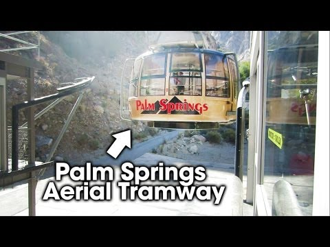 Palm Springs Aerial Tramway (HD Video)