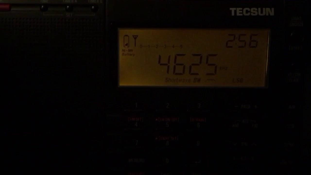 "Russian Military Numbers Station ZhUOZ aka ""The Buzzer"" @ 4625 kHz LSB - UK  - 31 12 2017"