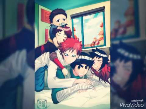 Lee x gaara - YouTube Gaara And Rock Lee Yaoi