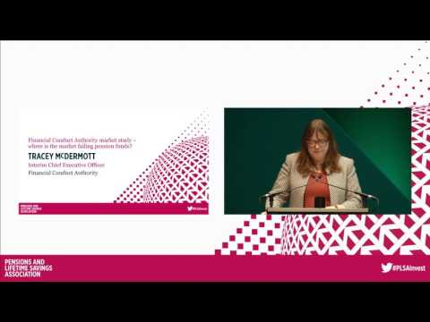 Where is the market failing pension funds? Plenary 3 at PLSA