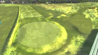 The 143rd Open at Royal Liverpool: 3rd Hole Flyover (2014)