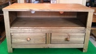Tv Cabinets Edinburgh - Solid Pine Flat Pack Furniture Assembly Service