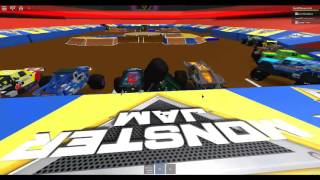 Monster Jam Roblox Monster Energy Freestyle