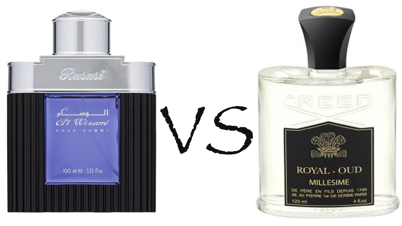 Rasasi Al Wisam Evening Vs Creed Royal Oud Fragrance Review Youtube