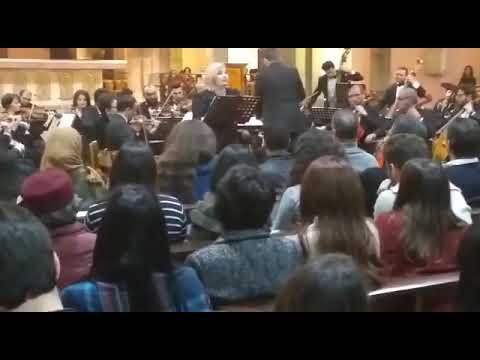Veronica Antonelli chant de Noel Orchestre Symphonique Tunisien direction Mohamed Bouslama