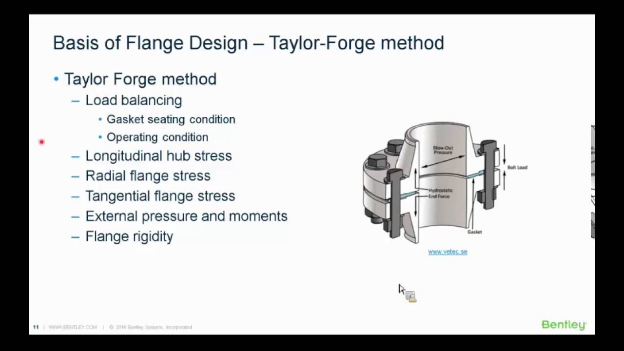 Minimizing Risk of Flange Failure with AutoPIPE Flange Analysis