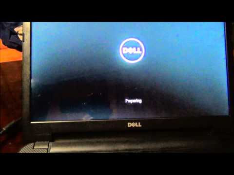 Dell Inspiron15 Windows Restore Reload To Factory Settings
