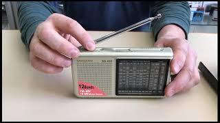 Sangean SG-622 обзор всеволнового аналогового радиоприёмника