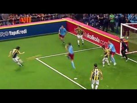 Erhan Albayrak'ın Golü | 4 Büyükler Salon Turnuvası | Fenerbahçe 2 - Trabzonspor 2 | (06.01.2016)