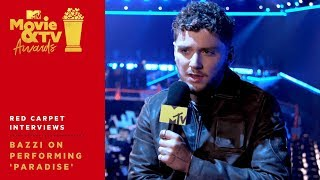 Bazzi on Performing 'Paradise' & His Obsession w/ Lizzo | 2019 MTV Movie & TV Awards