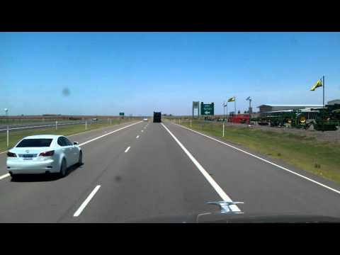 Trucking through Childress County Texas on US Highway 287