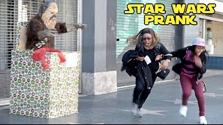 STAR WARS CHEWBACCA PRANK! - HOW TO PRANKS