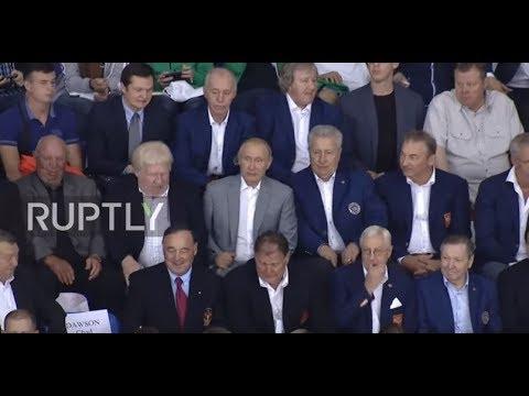 Russia: Putin watches