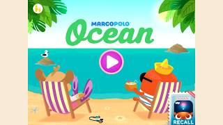 Кто живет в океане. Обучающее видео для детей 2-5 лет. Учим океан.