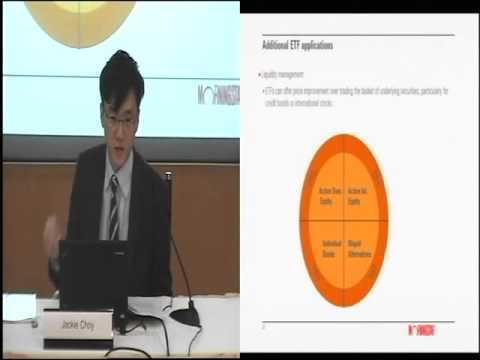 "สัมมนา ""Strategic Beta and Using ETFs in Combination with Active Managers"""