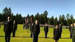 Live at LDAC 2011: 11th and 12th Regiments' Graduation and Commissioning Ceremony