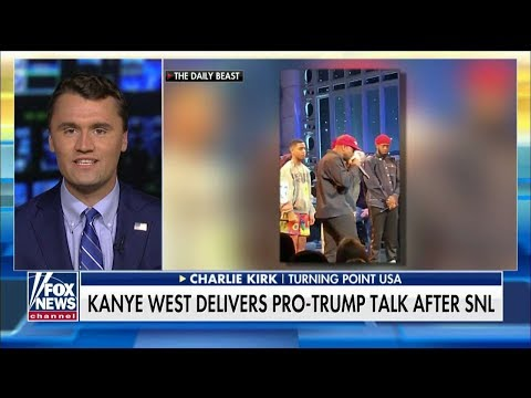 'A Profound Cultural Moment': Charlie Kirk Applauds Kanye West's Pro-Trump Speech on 'SNL'