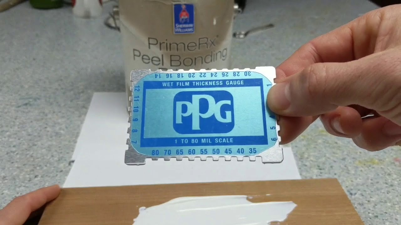 Verifying Paint Thickness With A Mil Gauge Youtube