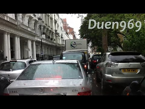 London Streets (546.) - Victoria - Knightsbridge - Hammersmith - A4 - Hatton Cross