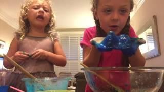 Mikiko and Kaya make Slime!
