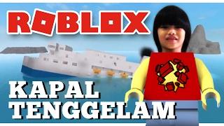 ROBLOX-SERU!!! Sinking SHIP con Dzubi