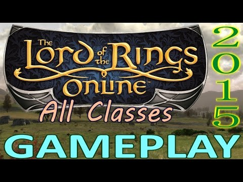 LOTRO – Lord of the Rings Online – Gameplay 2014 (Every Class in