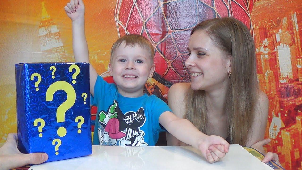Отгадай что в коробке! Видео про игрушки для детей