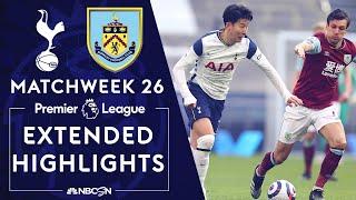 Tottenham v. Burnley | PREMIER LEAGUE HIGHLIGHTS | 2/28/2021 | NBC Sports