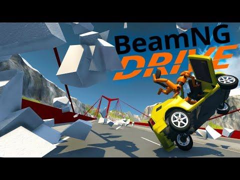 What Happens When You Hit Styrofoam At 150 MPH? - The Craziest BeamNG Mod Props - BeamNG Drive