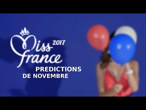 Prédictions de Novembre - Miss France 2017 👑👸
