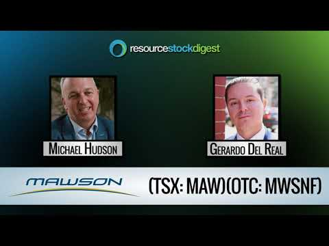 RSD Interview: Mawson Resources (TSX: MAW) CEO Michael Hudson - August 7, 2018