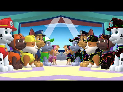 Paw Patrol Mighty Pups Save Adventure Bay-Snow Rescue Mission Let's Play Pt2
