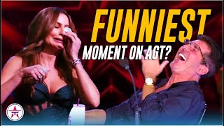 Simon Cowell LAUGHING and Sofia Vergara CRYING Like Never Before on America's Got Talent