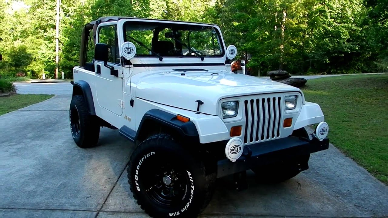 1995 Jeep Wrangler Rio Grande Edition Youtube