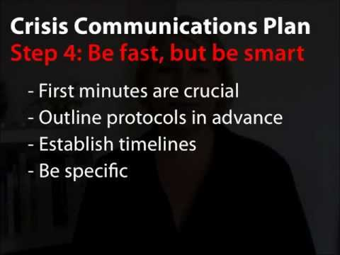 7 Easy Steps for Crisis Communications Planning