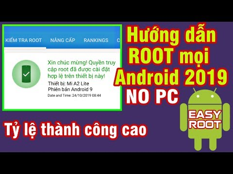 ⚡FULL⚡ Cách ROOT mọi Android 2019 cực dễ không cần PC - How to ROOT Any Android 2019 Without PC